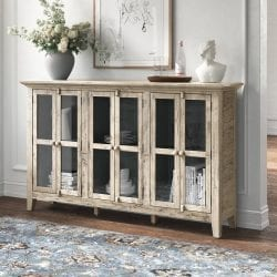 Kelly Clarkson Home Claire Wide Acacia Wood Sideboard