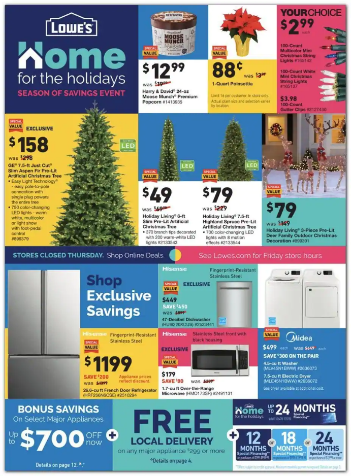 Lowe's 2020 Black Friday Ad Preview