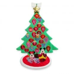 Disney Mickey and Minnie Mouse Plush Wall Hanging Advent Calendar