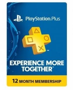 Sony PlayStation PS Plus 12-Month Membership Subscription