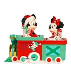 Disney Mickey and Minnie Mouse Holiday Salt & Pepper Shaker Set