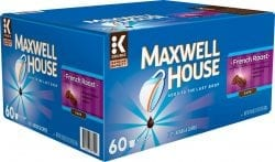 Maxwell House French Roast K-Cup Pods (60-Pack)