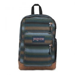 JanSport Cool Student Laptop Backpack (Surfside Stripe)