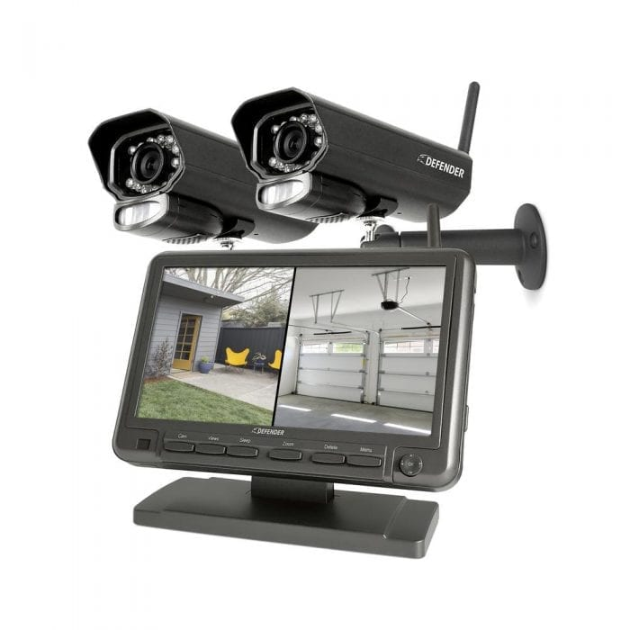 Defender PHOENIXM2 Security System with 2 Night Vision Cameras