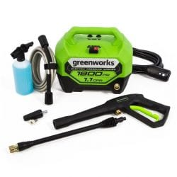 Greenworks GPW1804TN 1800-PSI 1.1-GPM Cold Water Electric Pressure Washer