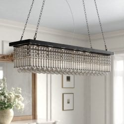 Kelly Clarkson Home 8-Light Kitchen Island Rectangle Pendant