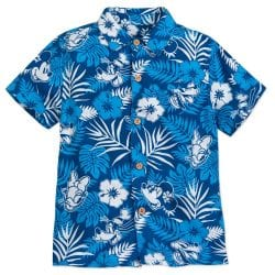 Disney Hawaii Mickey Mouse and Friends Aloha Shirt (Men's)