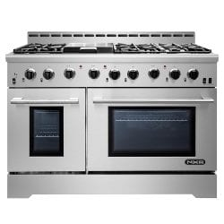 NXR MM4811 Stainless Steel 48-Inch Gas Range with LED