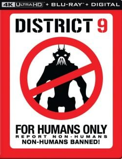 District 9 [SteelBook] [Includes Digital Copy] [4K Ultra HD Blu-ray/Blu-ray] [2009]