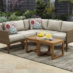Better Homes & Gardens Davenport 7-Piece Woven Outdoor Sectional Set