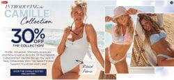 30% off New in 2021 Camille Kostek Swim Collection