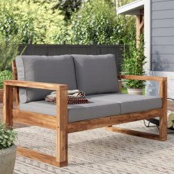 Sand & Stable Norris Outdoor Loveseat (with Cushions)